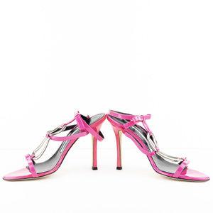 Manolo Blahnik Nefasta Sandals Size 38